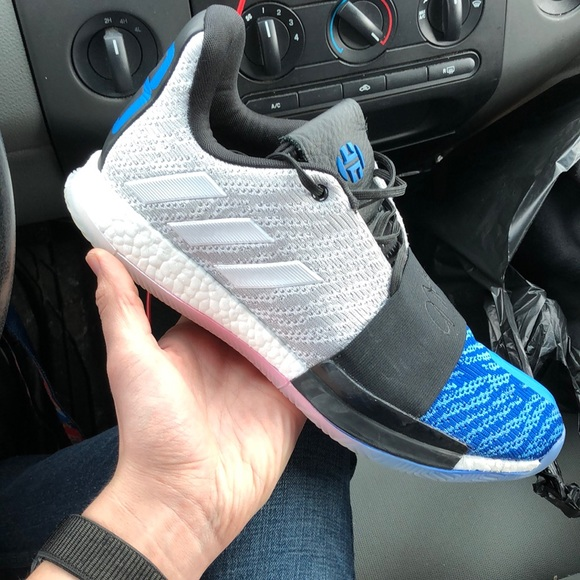 Adidas James Harden Vol 3 Blue Toe